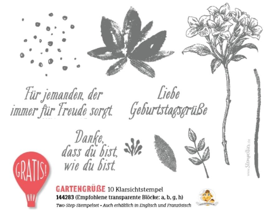 stampin up SAB 2017 gartengrüße Geburtstagskarte