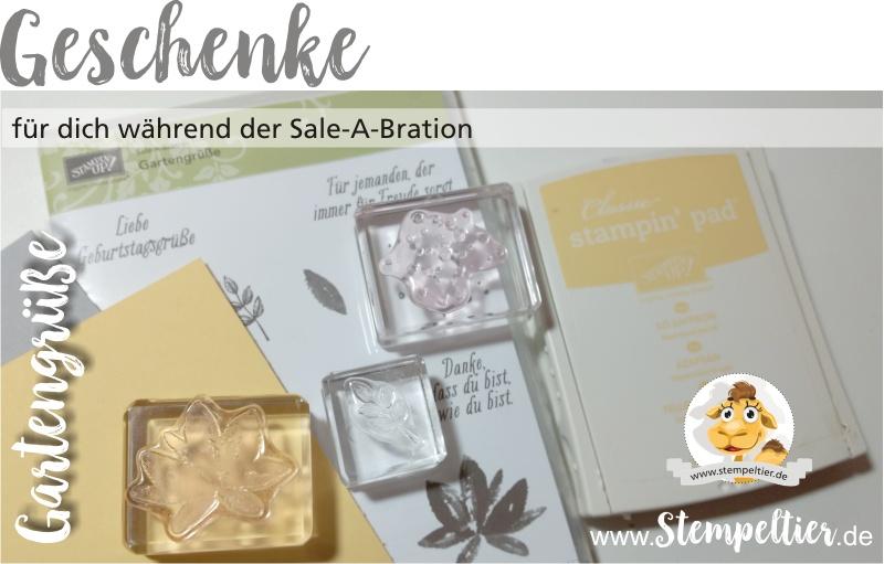 stampin up sale a bration SAB 2017 gartengrüße gartengruesse gratis geschenk stempeltier prämie 1