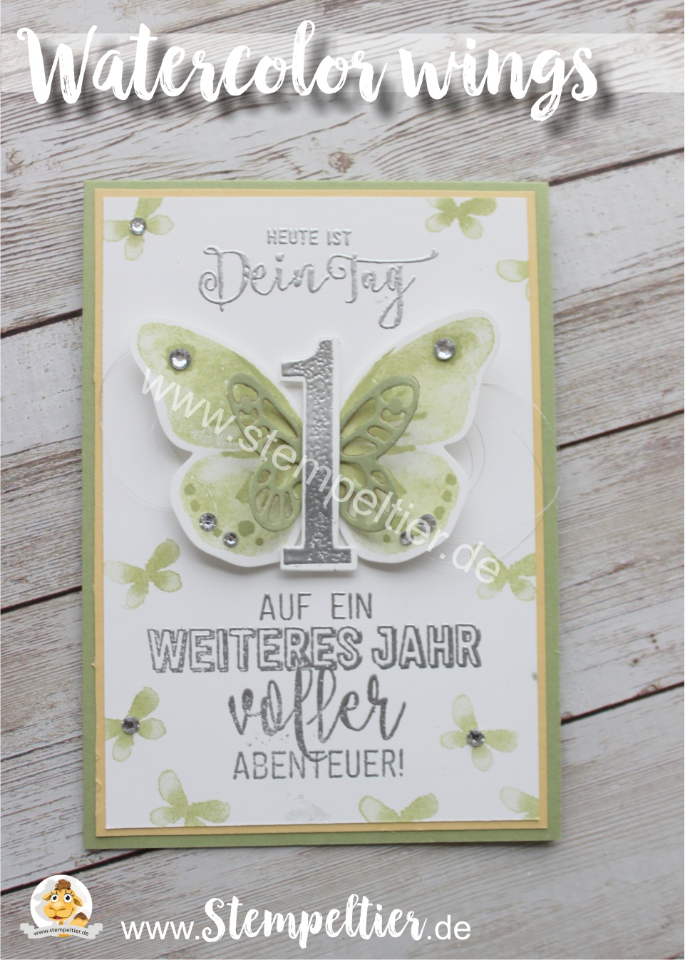 stampin up watercolor wings ballonparty demo geburtstag stempeltier blog