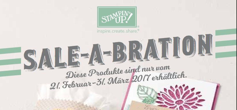 sale a bration stampin up blo neue prämien februar 2017