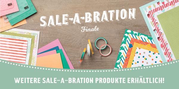 Finale der Sale-a-Bration 2017 – neue Gratisprodukte