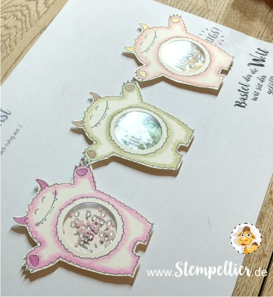 schüttelmonster marion workshop stempeltier stampin up yummy tummy