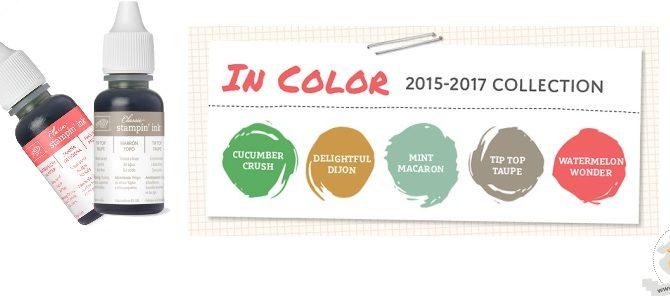 Jetzt schon die auslaufenden InColors 2015-2017 sichern