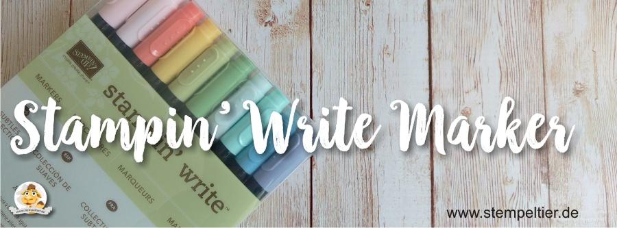 stampin write marker stifte colorieren stampin up bestellen blog stempeltier