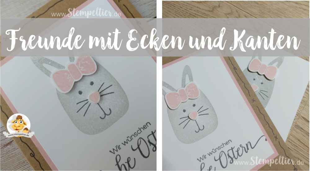 stampin up blog playful pals ostern 2017 easter bunny hase freunde mit ecken und kanten stempeltier
