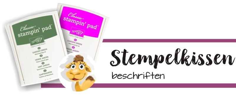 stampin up blog stempelkissen beschriften aufbewahrung ink pads stempeltier tipp