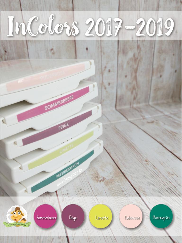 stampin up incolors neu 2017 2019 feige limette meeresgrün sommerbeere puderrosa stempeltier preview