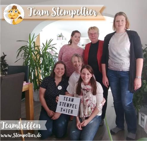 stampin up teamtreffen team stempeltier demo werden einsteigen