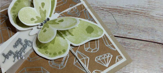 … ein weiterer Schmetterling geht auf Reisen