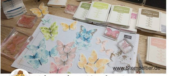 Video:  Schmetterlinge mit den Watercolor Wings