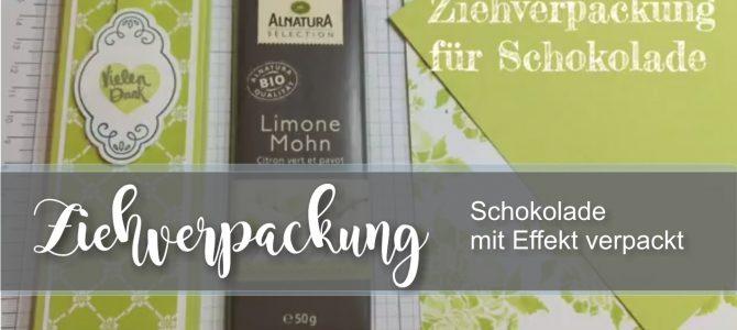 Schoko Ziehverpackung – Anleitung