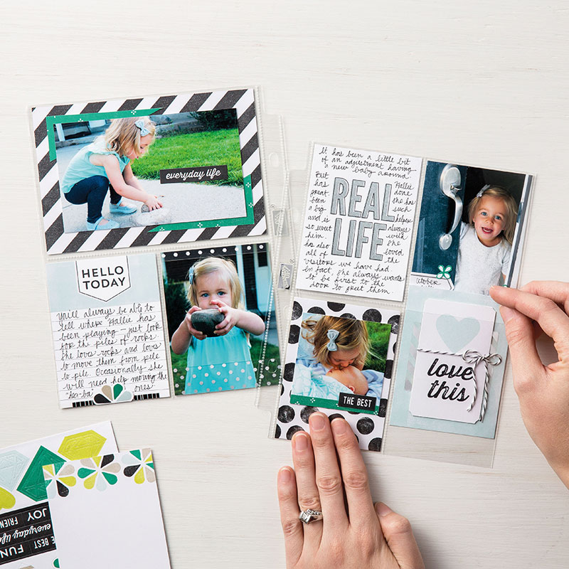 memories and more erinnerungen und mehr stampin up scrapbooking hello baby