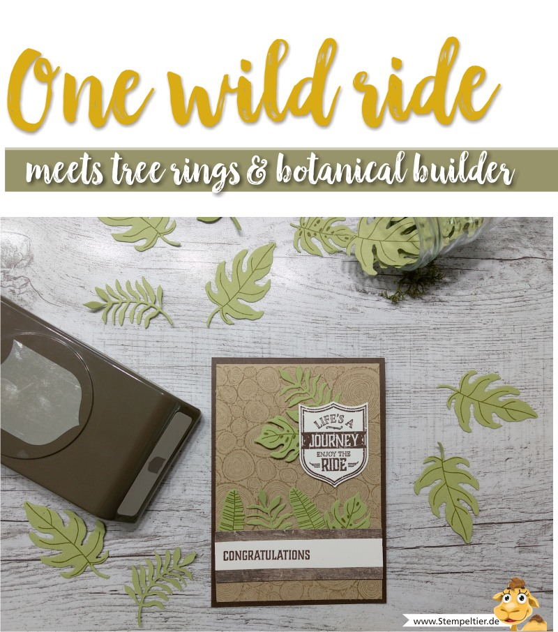 stampin up blog tree rings one wild ride life journey wappen best badge punch stempeltier