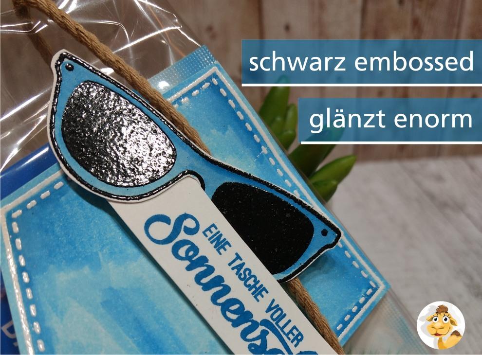 stampin up tasche voller sonnenschein pocketful of sunshine sunglasses sonnenbrille 1