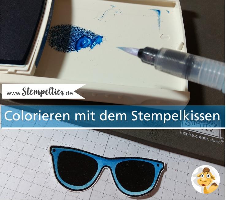 stampin up tasche voller sonnenschein pocketful of sunshine sunglasses sonnenbrille