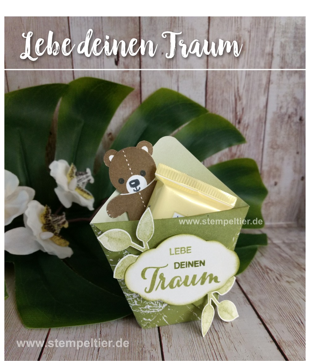 stampin up blog dream traum hostess goodie verpackung teddy stempeltier team