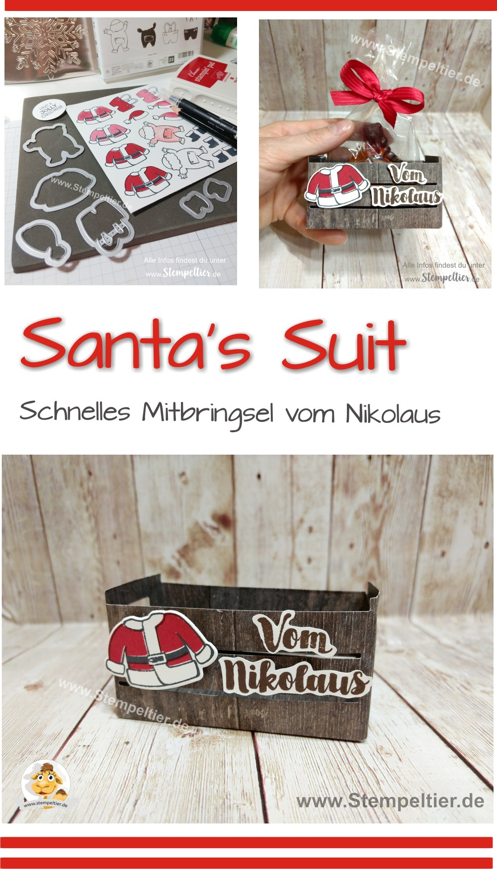 stampin up blog santas suit weihnachtsmann builder nikolaus obstkiste verpackung santa clause goodie mitbringsel stempeltier