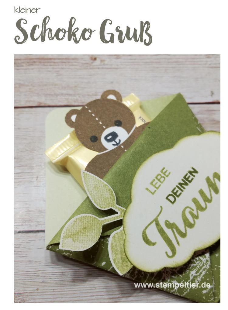 stampin up teddy ritter sport verpackung lebe deinen traum stempeltier