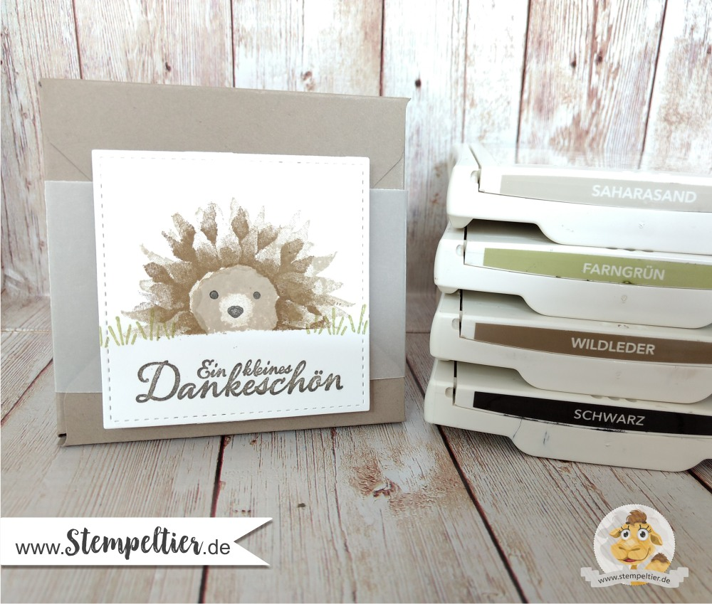 stampin up blog igel herbstanfang video anleitung hedgehog sunflower sonnenblume stempeltier