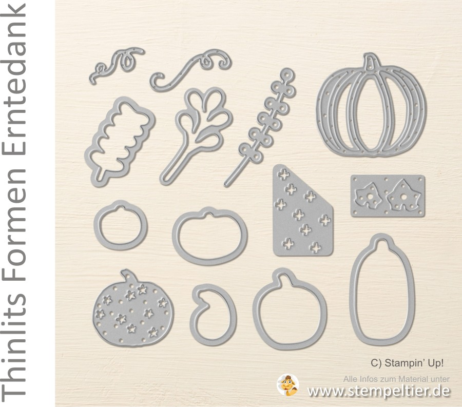 stampin up blog thinlits erntedank pick a pumpkin bigshot stempeltier