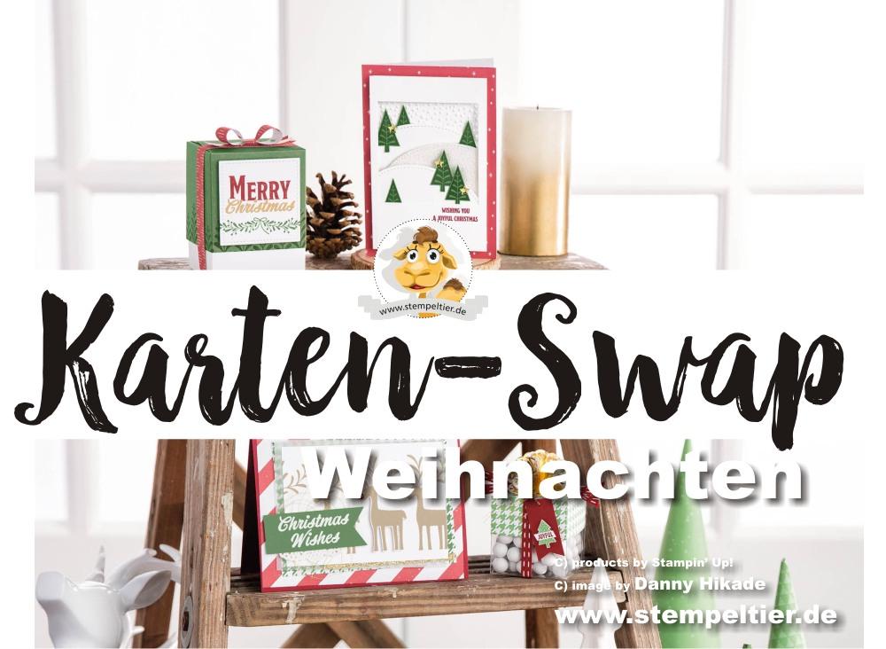 kartenswap weihnachten winter stempeltier mitmachen anmeldung kartentausch stampin up