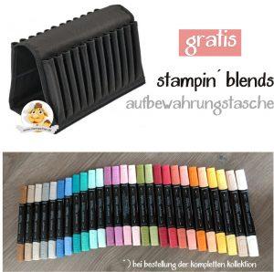 stampin blends aktion stempeltier alkoholmarker blender pens