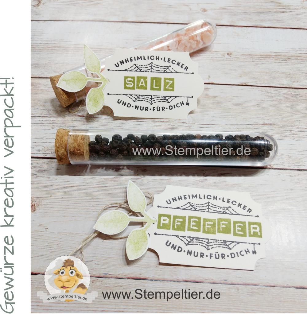 stampin up blog stempeltier reagenzgläser tubes verpacken diy herbs