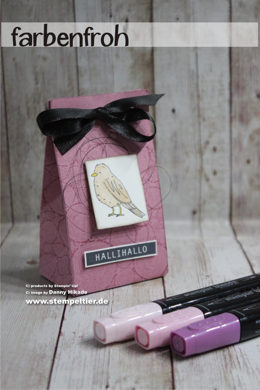 stampin up geschenktüten falbrett farbenfroh vogel stampin blends bestellen
