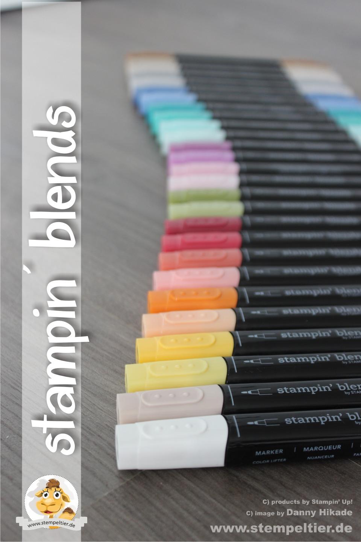 stampin up stampin blends bestellen kaufen vorbestellung alkoholmarker farbenfroh colorieren pens