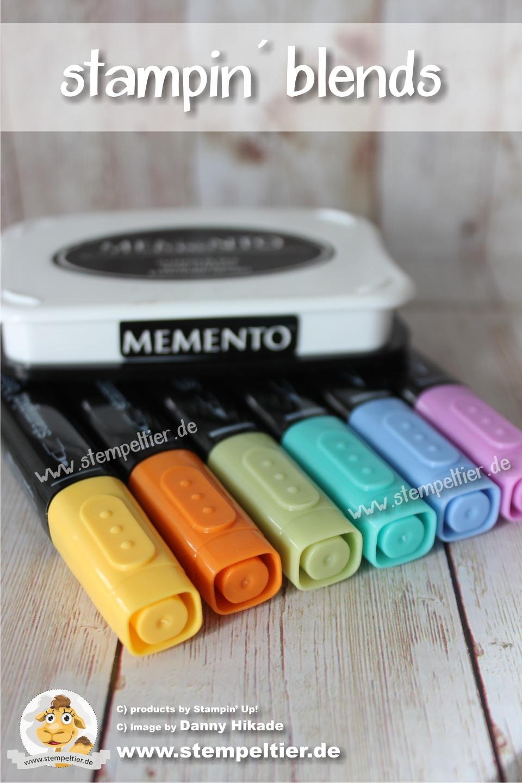 stampin up stampin blends bestellen kaufen vorbestellung alkoholmarker farbenfroh colorieren