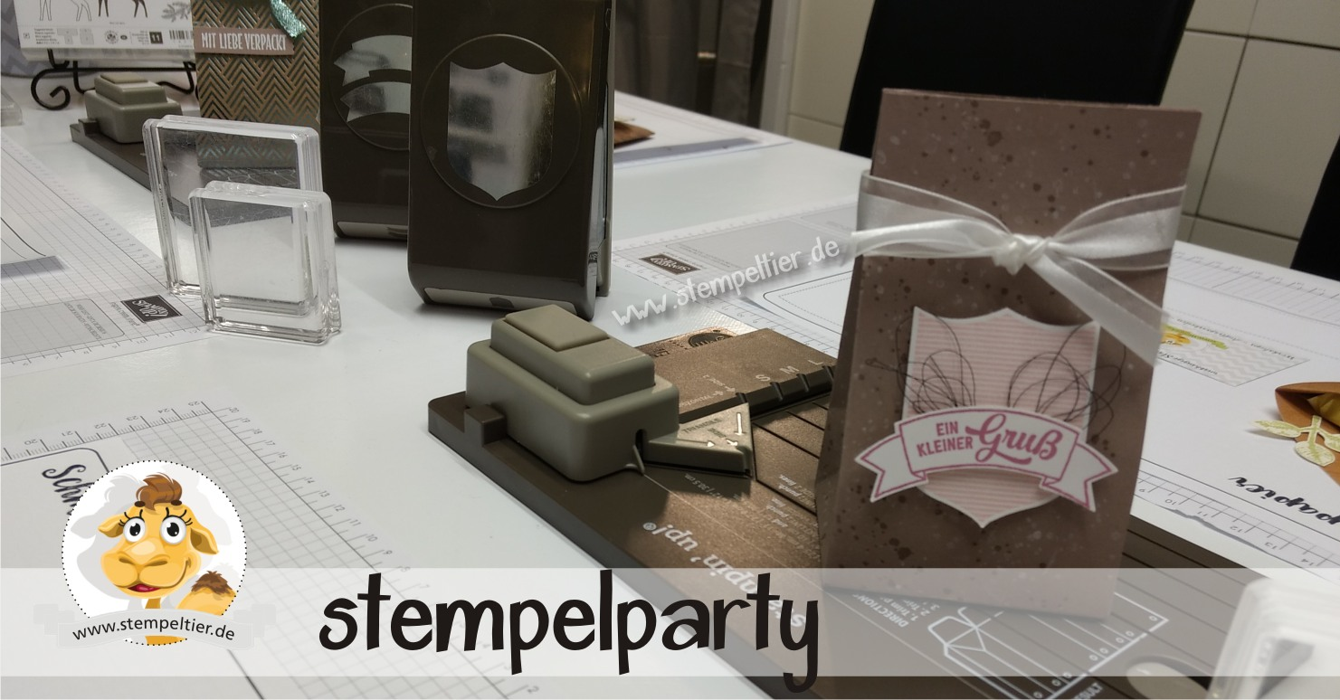 stampin up stempelparty