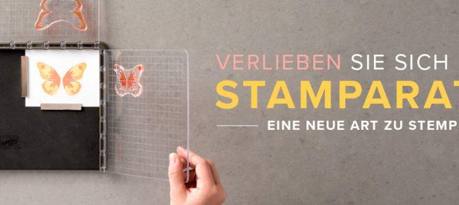 der Stamparatus kommt – die neue Art zu Stempeln