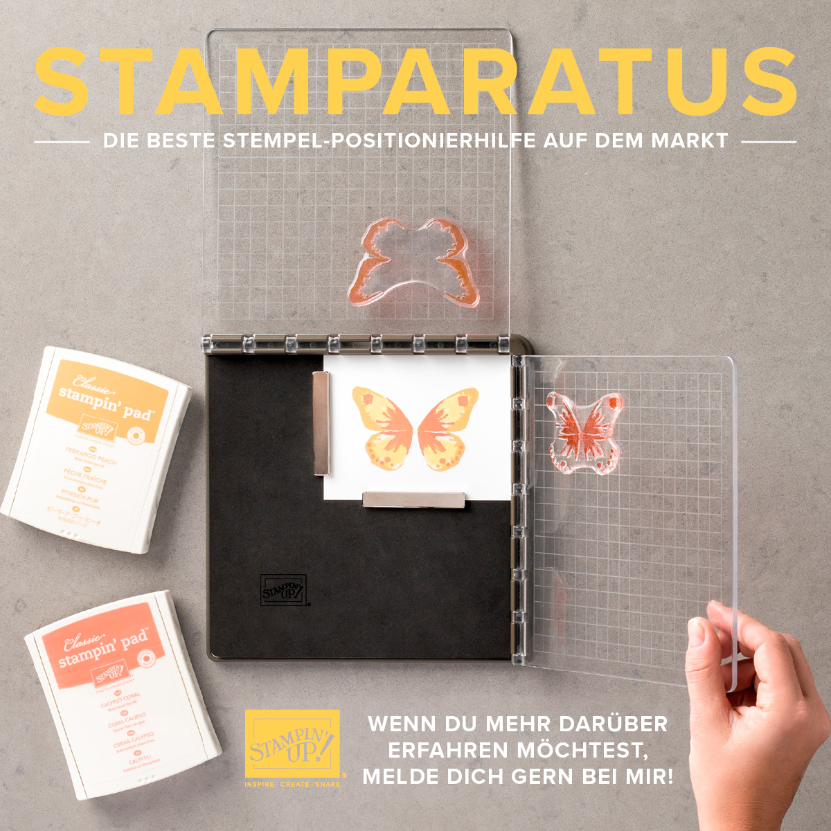 stamparatus stampin up vorbestellung preorder stempeltier