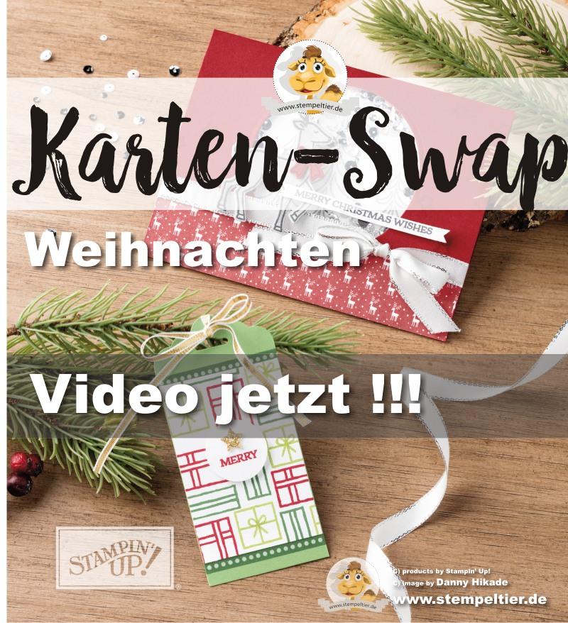 kartenswap weihnachten video stempeltier