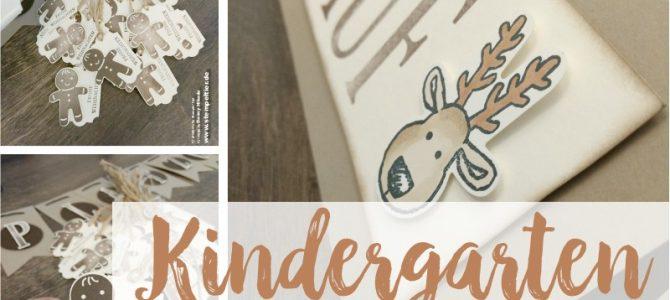 Plätzchen für den Kindergarten