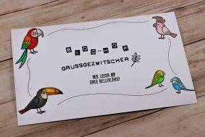 stampin up grußgezwitscher vögel