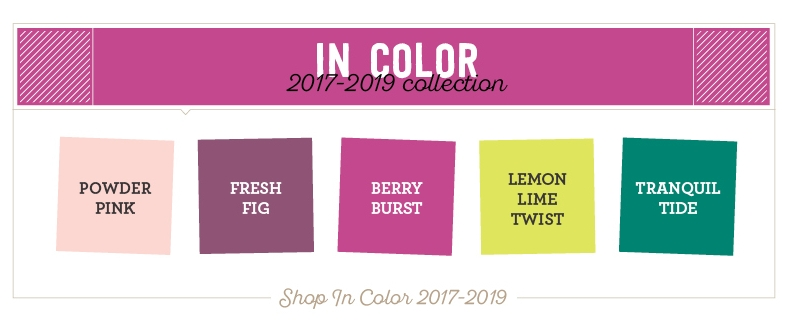 stampin up incolor 2017 2019