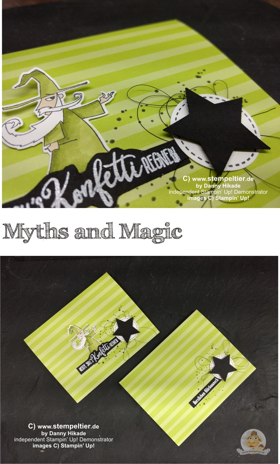 stampin up myths and magic suite sorcerer stempeltier