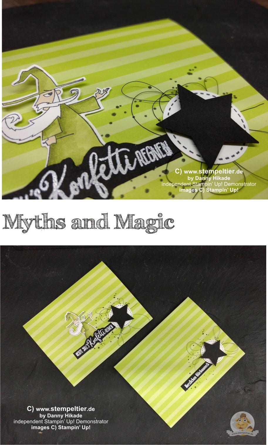 stampin up myths and magic suite sorcerer stempeltier