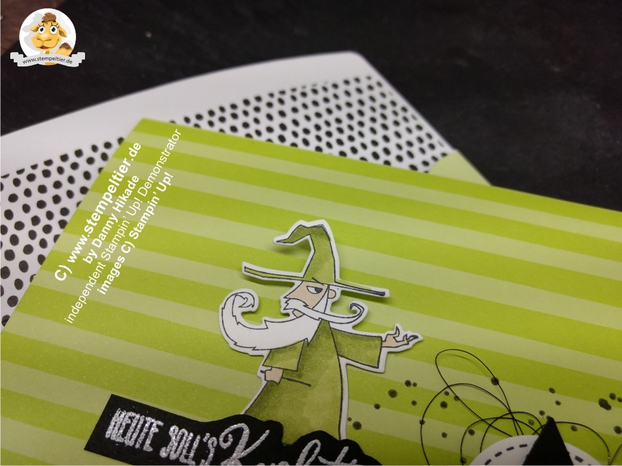 stampin up myths and magic suite zauberhafter Tag märchen magie