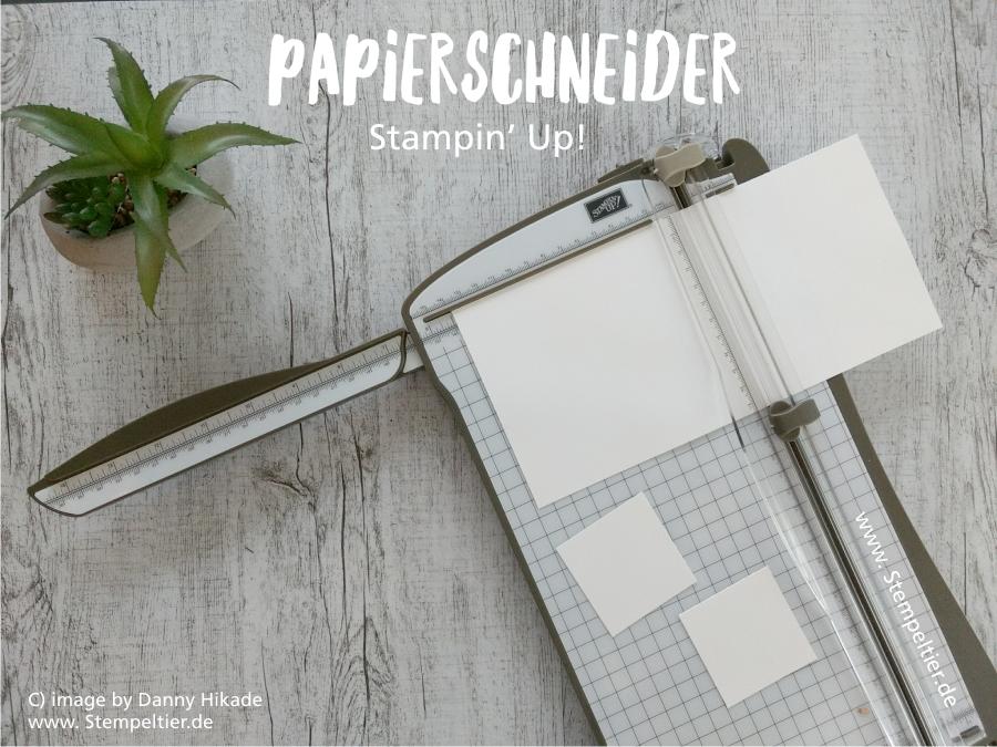 Stampin Up Schneidemaschine Papierschneider kaufen bestellen trimmer stempeltier