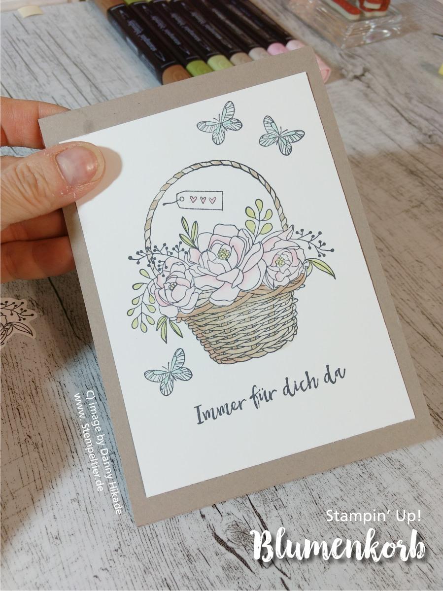 stampin up sab blumenkorb saleabration blossoming basket bundle