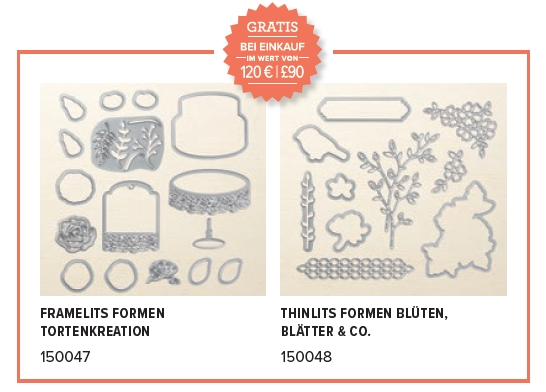 neue Prämien Sale-a-bration 2018 SAB stampin up abgestempelt framelits gratis