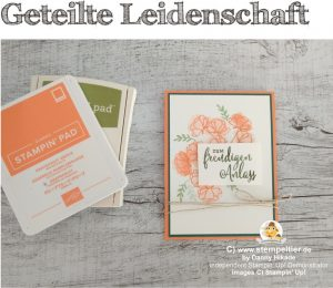stampin up geteilte leidenschaft share what you love stempeltier bestellen