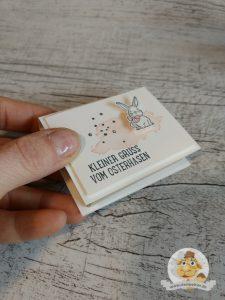 stampin up kleiner gruß vom osterhasen verpackung