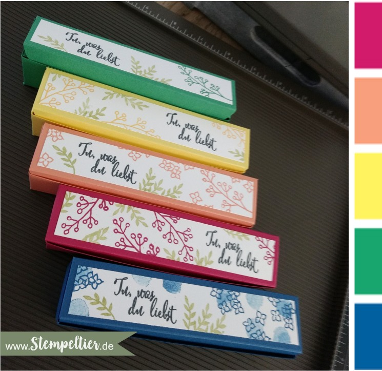 stampin up incolors 2018 2020 geteilte leidenschaft goodie box stampin up