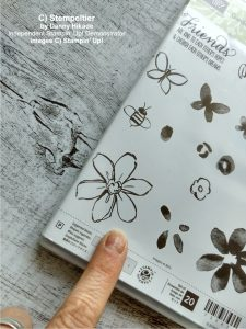 stampin up karte garden in bloom stempeltier bermudablau