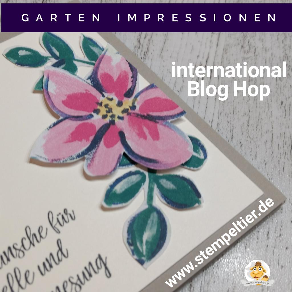 stampin up gartenimpresseionen dsp garden impressions flowers 2