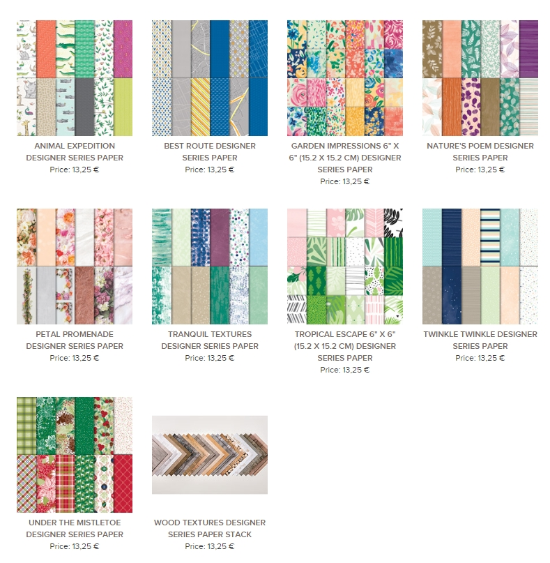 dsp sale desigperpapier stampin up aktion juli