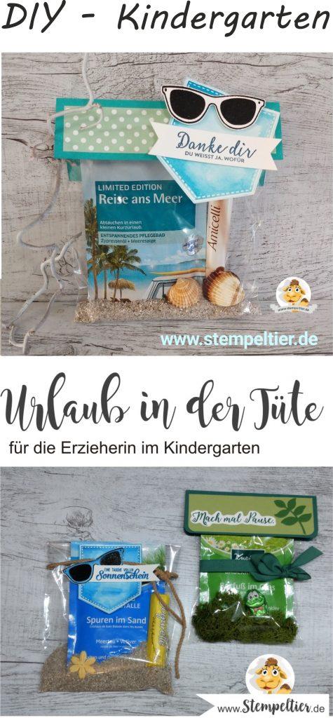 stampin-up-erzieherin-kindergarten-geschenk-kleinigkeit-urlaub-in-der-tüte-kneipp-badesalz-verpacken-tetesept abschied